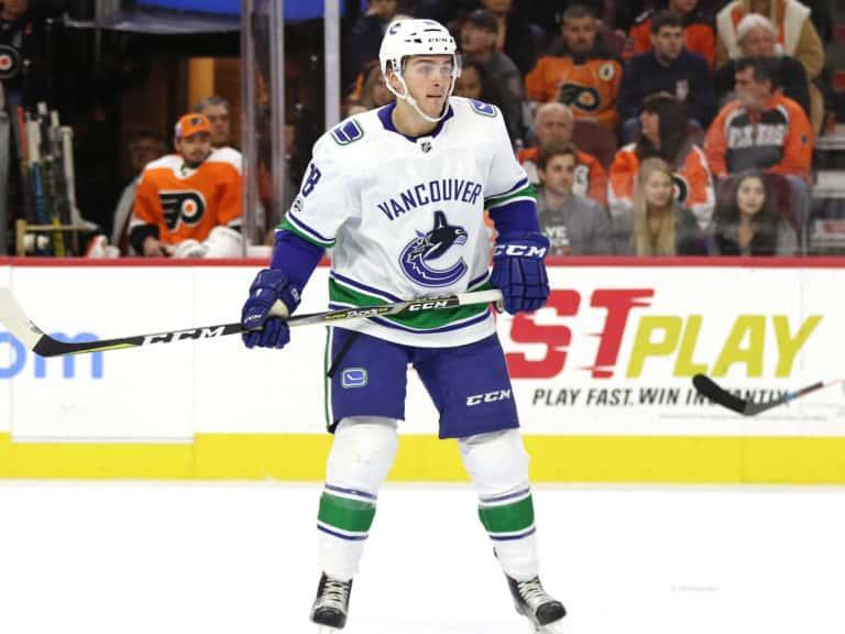 Jake Virtanen Canucks