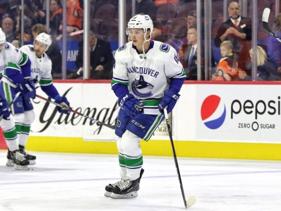 Jake Virtanen Vancouver Canucks