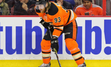 Voracek Finding His Form Early