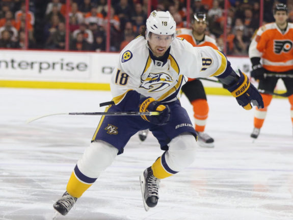James Neal, Nashville Predators, NHL
