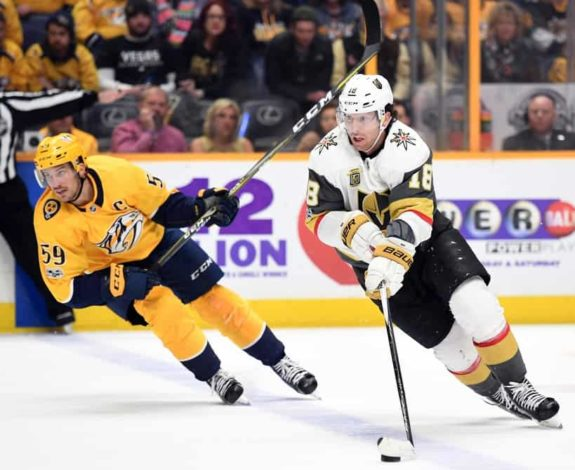 Vegas Golden Knights left wing James Neal