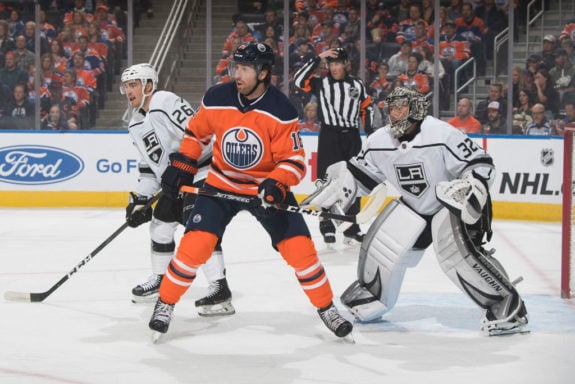James Neal Edmonton Oilers Jonathan Quick Los Angeles Kings