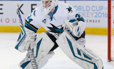 Is James Reimer Stealing the Sharks Crease?