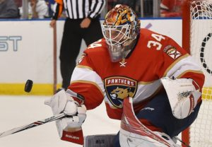 James Reimer's performance so far this season is a concern for the Panthers. (Jasen Vinlove-USA TODAY Sports)