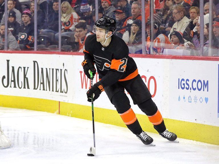 James van Riemsdyk Philadelphia Flyers