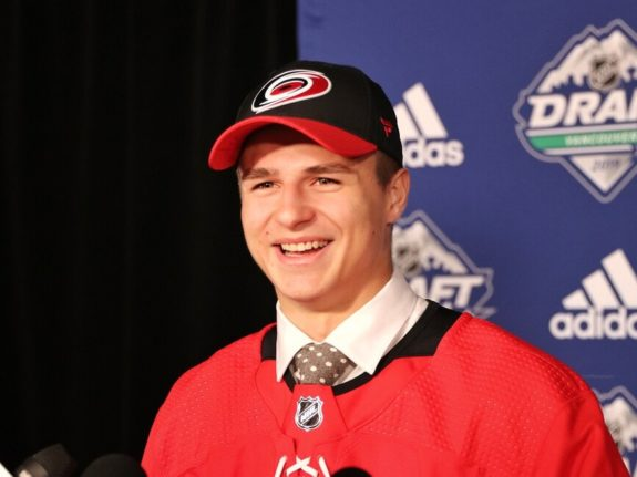 Jamieson Rees Carolina Hurricanes Draft