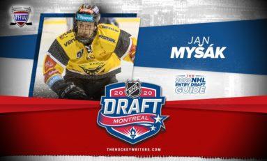 Jan Myšák - 2020 NHL Draft Prospect Profile