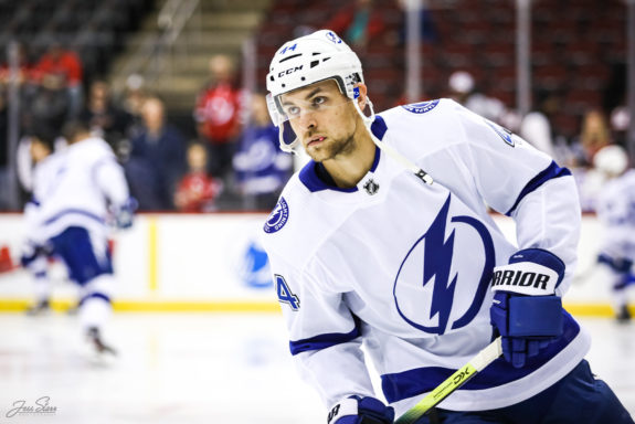 Jan Rutta Tampa Bay Lightning