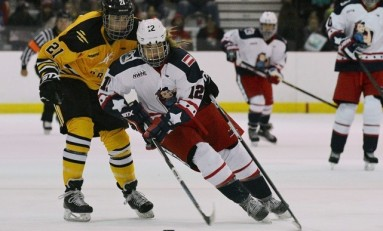 Janine Weber is Making History with the NWHL
