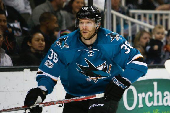 Jannik Hansen San Jose Sharks