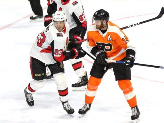 Christian Jaros, Ottawa Senators Sean Couturier Philadelphia Flyers