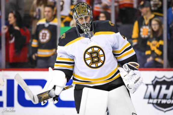 Bergeron's third consecutive 2-goal game raises Bruins on Sabers