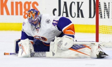 Islanders' Goalie Triangle