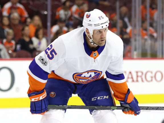Jason Chimera, New York Islanders
