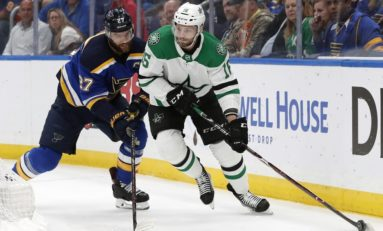 Blues Face Stars in Western Conference Battle