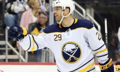 Pominville Thriving on Sabres Top Line