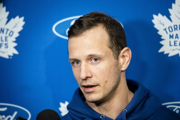 Toronto Maple Leafs Jason Spezza