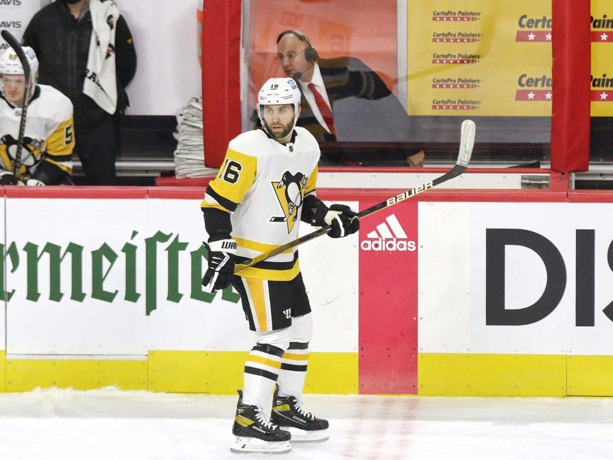 Jason Zucker Pittsburgh Penguins