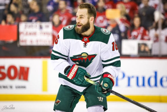 Minnesota Wild Trade Jason Zucker To Pittsburgh Penguins
