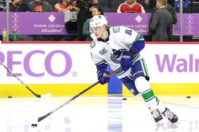 Adam Gaudette Vancouver Canucks
