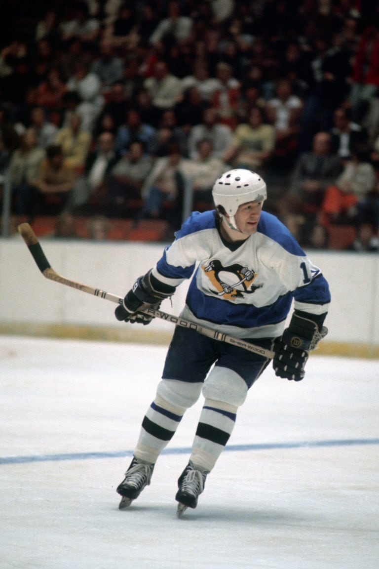 Jean Pronovost of the Pittsburgh Penguins