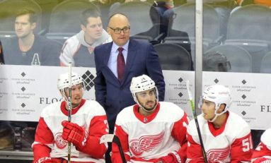 The Grind Line: Red Wings Jerseys, Blashill & More