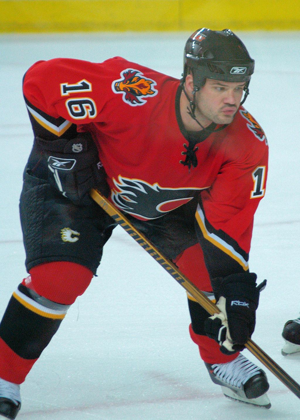 Jeff Friesen Calgary Flames