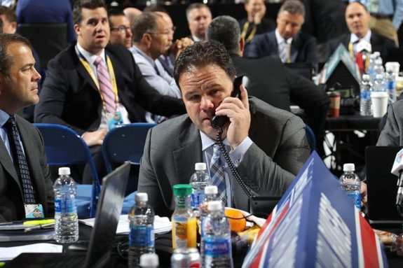 Jeff Gorton, New York Rangers GM