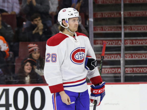 Montreal Canadiens Jeff Petry