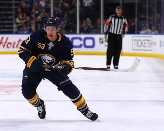 Sabres center Jeff Skinner