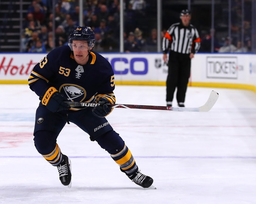 timeless design 0307a c6d40 Jeff Skinner: 7 Facts About the Buffalo Sabres Star Forward