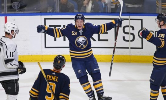 Sabres' Skinner Seals Comeback Over Kings