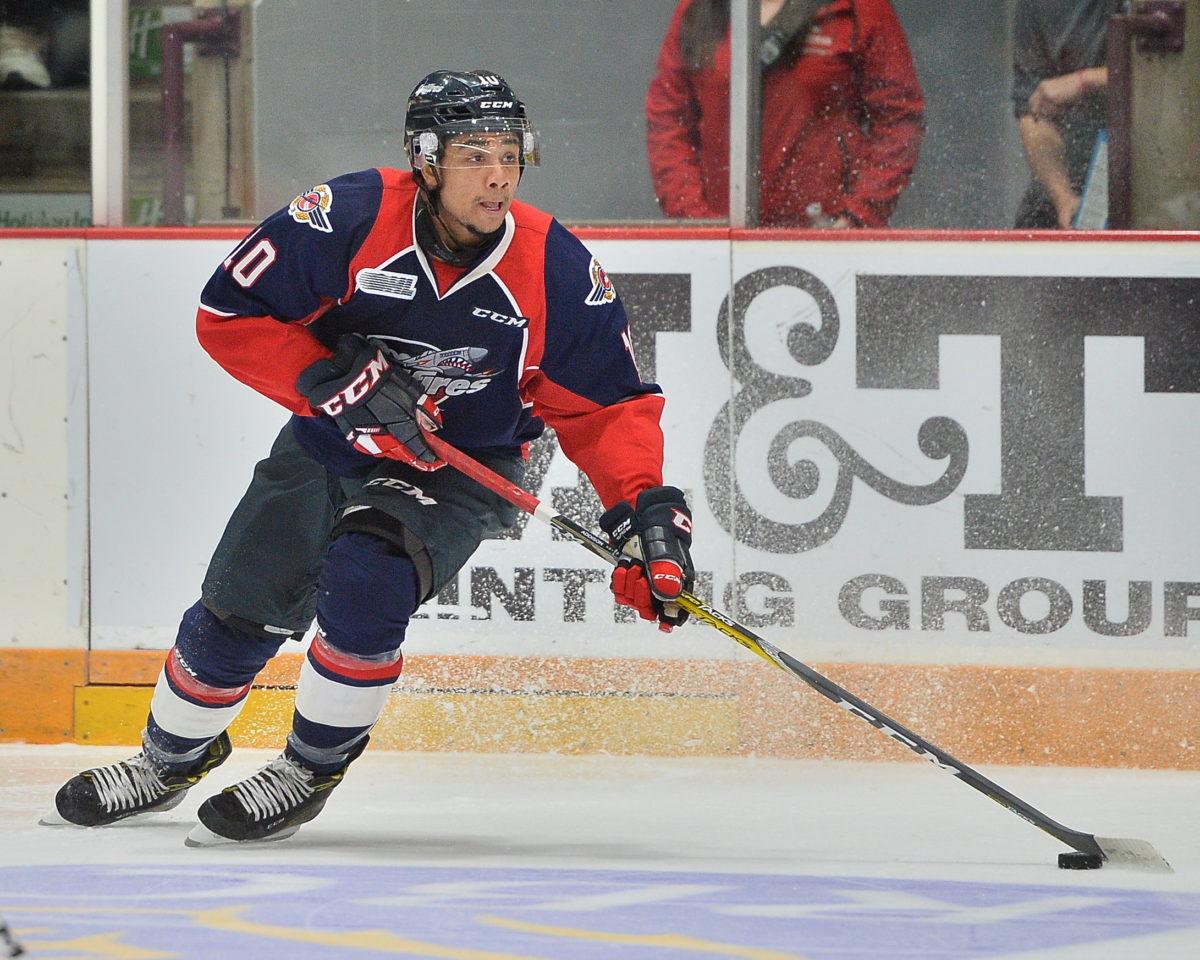 Jeremiah Addison, OHL, Windsor Spitfires