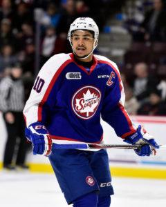Montreal Canadiens prospect Jeremiah Addison