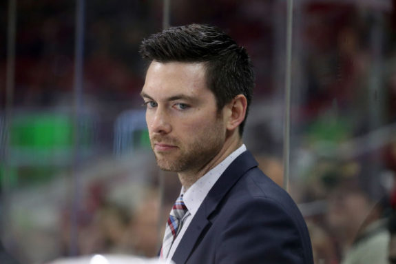 Head Coach Jeremy Colliton