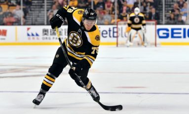 Providence Bruins Benefited by Organizational Depth