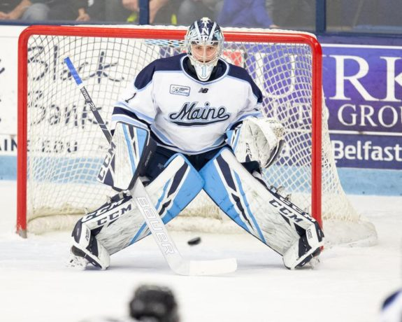 Jeremy Swayman (Maine Athletics)