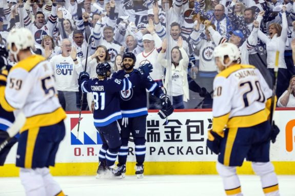 Winnipeg Jets Dustin Byfuglien Whiteout