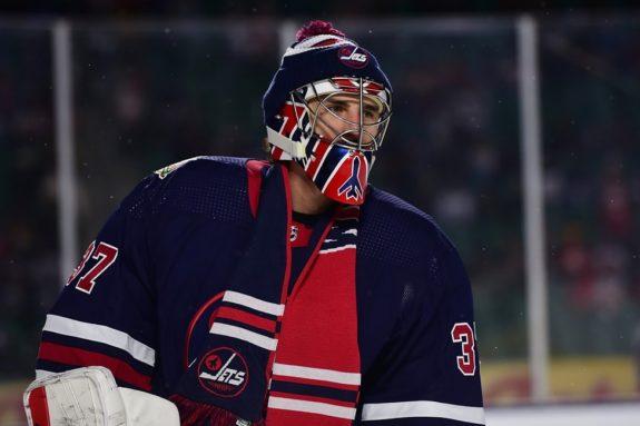 Winnipeg Jets Connor Hellebuyck