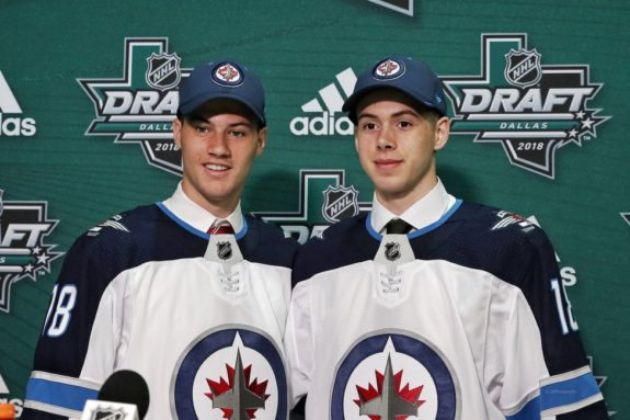Winnipeg Jets Draft Declan Chisholm Giovanni Vallati
