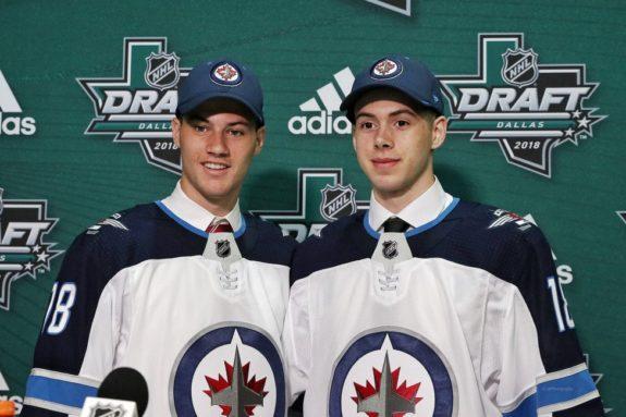 Winnipeg Jets Draft Declan Chisholm Giovanni Vallati