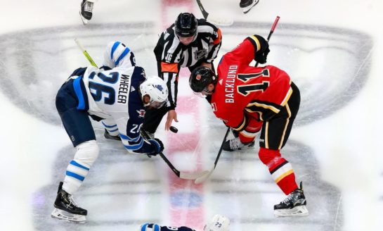 Flames Struggle to Play With the Lead Again in First Loss of the Season