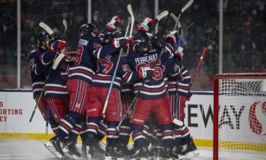 Little Scores OT Winner for Jets in Win over Flames in Heritage Classic