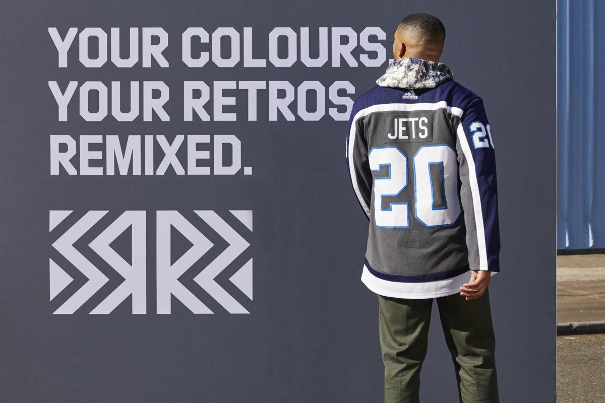 Winnipeg Jets Reverse Retro jersey
