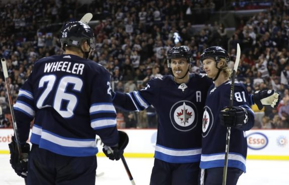 Winnipeg Jets Scheifele Wheeler Connor