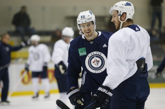 Winnipeg Jets Playoff Practice 2019