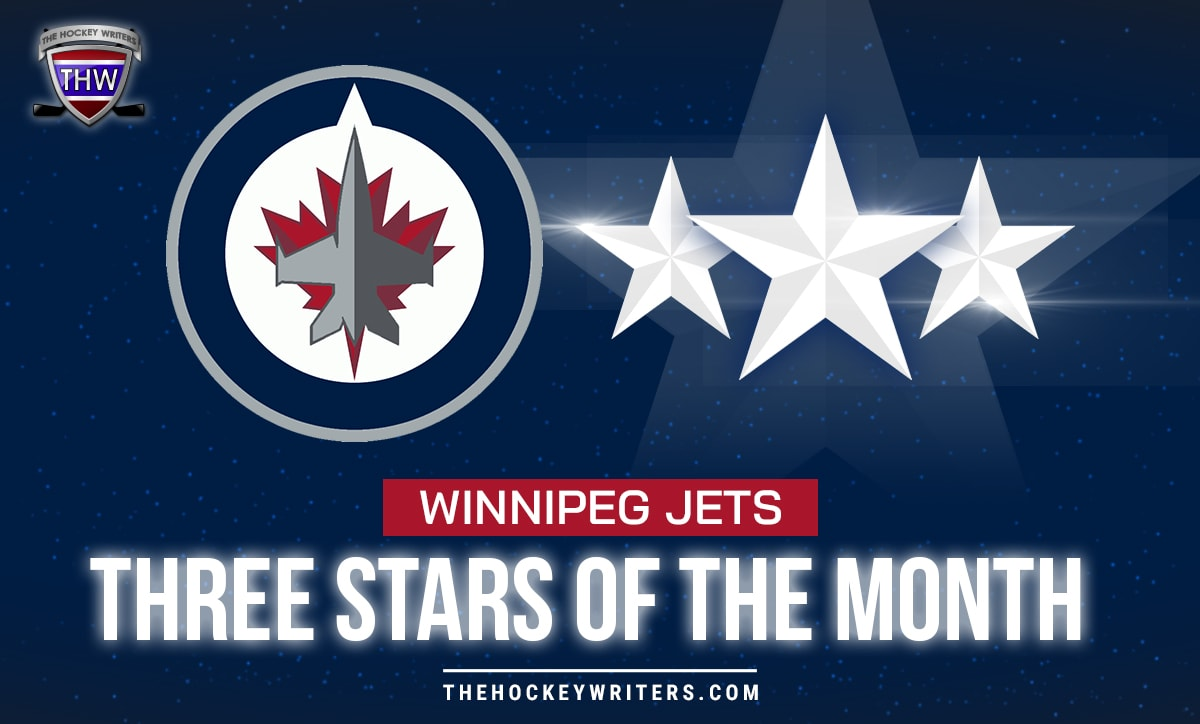 Winnipeg Jets' three stars of the month