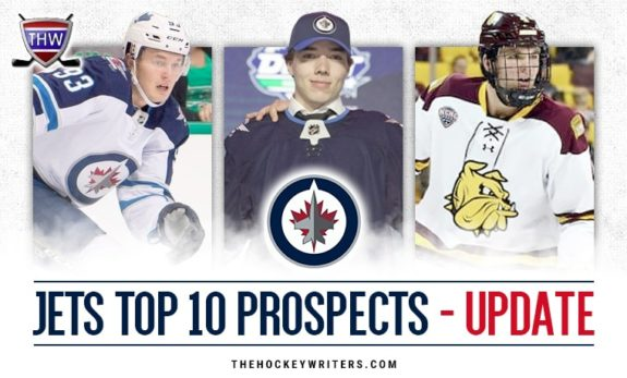 Winnipeg Jets Top 10 Prospects Dylan Samberg, Kristian Vesalainen, and Ville Heinola Update