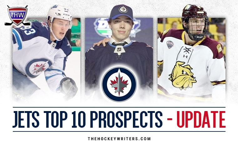 Winnipeg Jets Top 10 Prospects Dylan Samberg, Kristian Vesalainen, and Ville Heinola Update