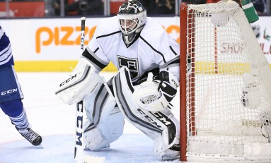 Jhonas Enroth Was the Leafs Best Option as Backup Goalie